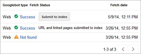 re submit google crawl errors