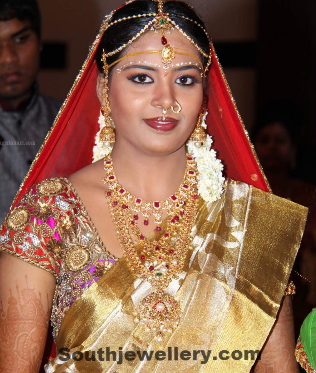 Bride In Wedding Jewellery