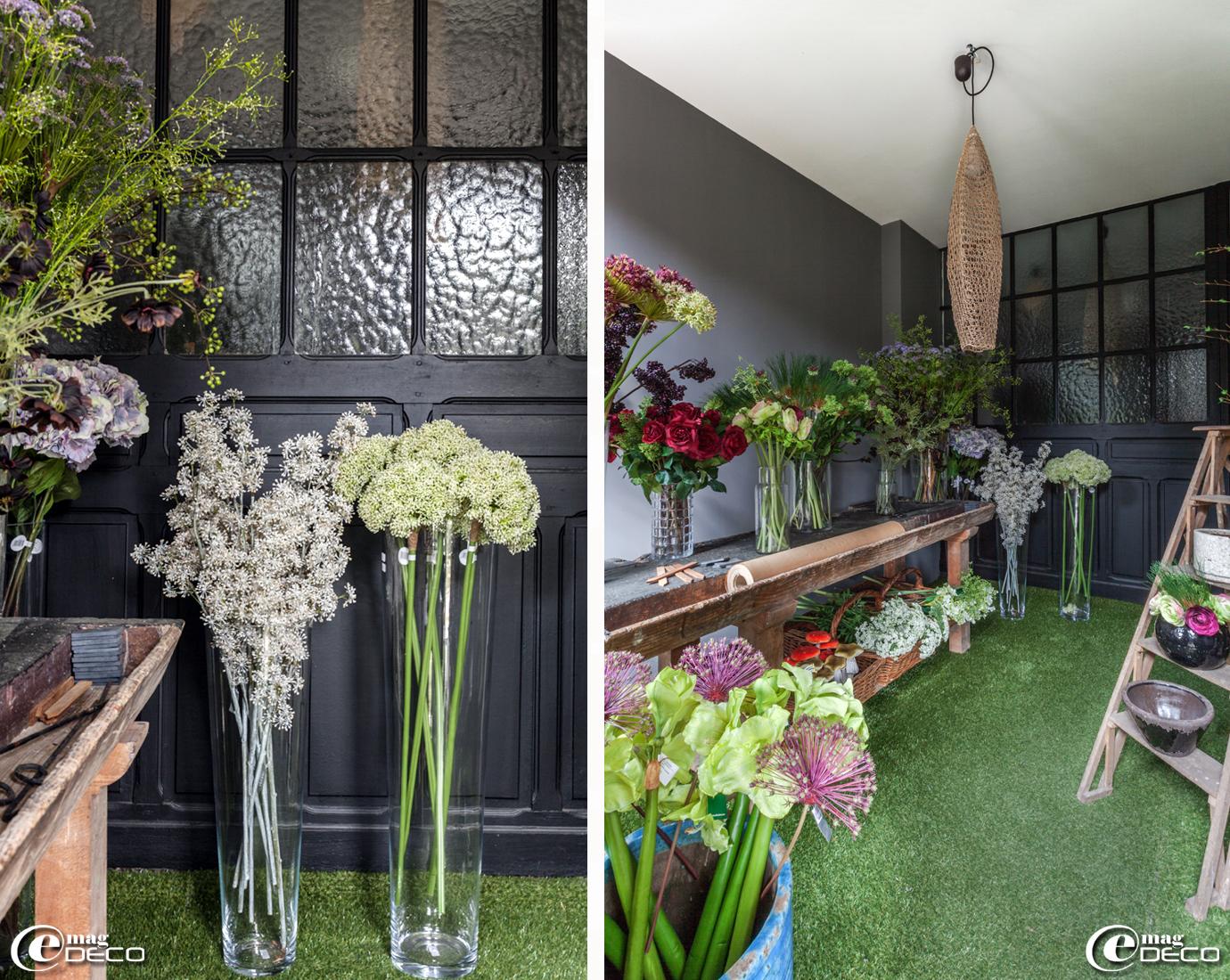 Boutique-atelier floral de la maison d'hôtes 'La Villa 1901' à Nancy