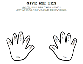 http://www.teacherspayteachers.com/Product/Give-Me-Ten-Writing-Graphic-Organizer