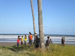 Na praia da Madal