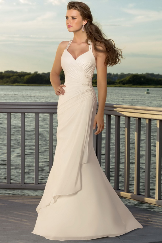 fashion world off white wedding dresses