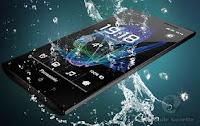 ponsel tahan air