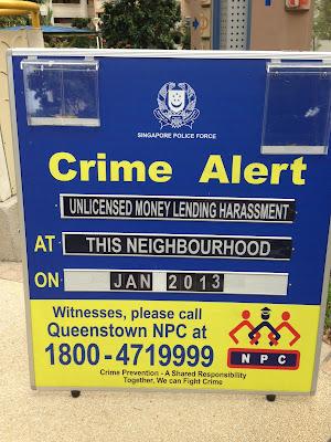 Crime Alert Notice