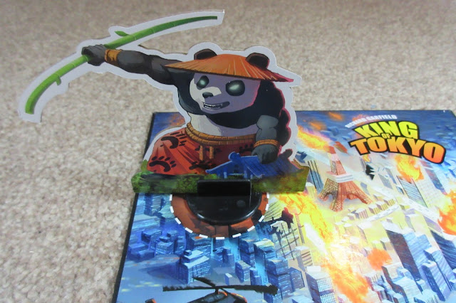 King of Tokyo Power Up! expansion - Pandakai | Random Nerdery