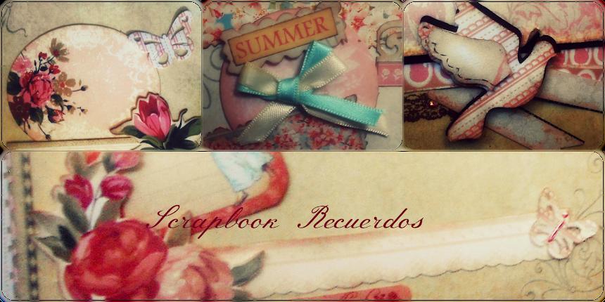 Scrapbook Recuerdos