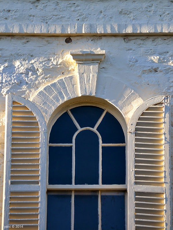 morning arch window
