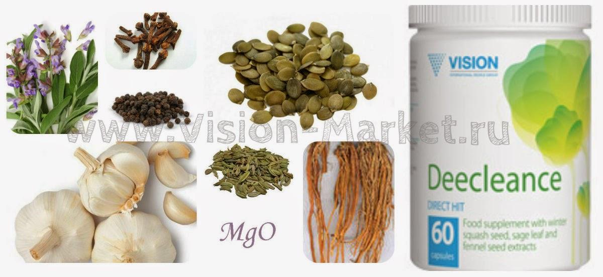 công dụng thực phẩm chức năng Deecleance Vision làm sạch cơ thể
