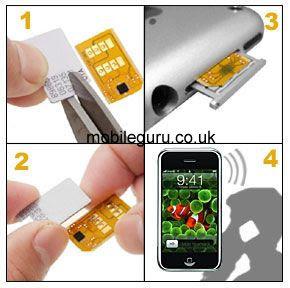 accessories: Iphone 3G Turbo Sim Unlocking Device X-Sim 3G Edition
