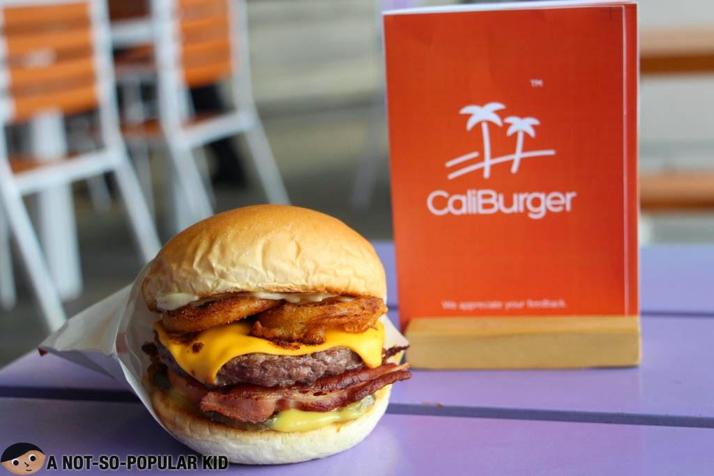 The All-New Smokehouse Burger of CaliBurger