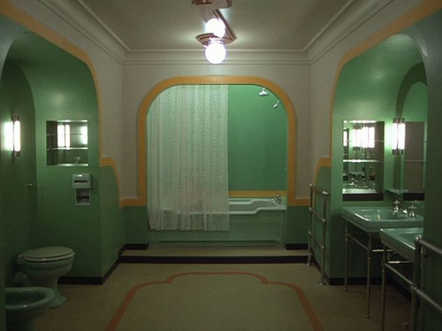 Art Deco Bathrooms - Collar City Brownstone