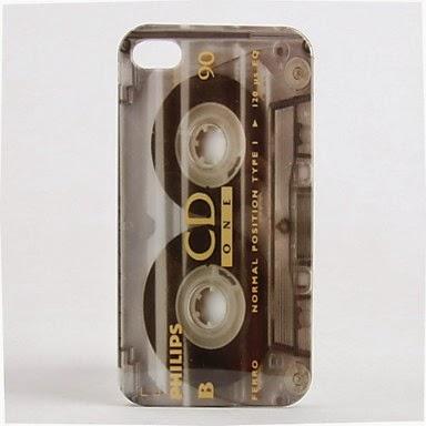 Funda Cinta de Cassette para iPhone 4 y 4S