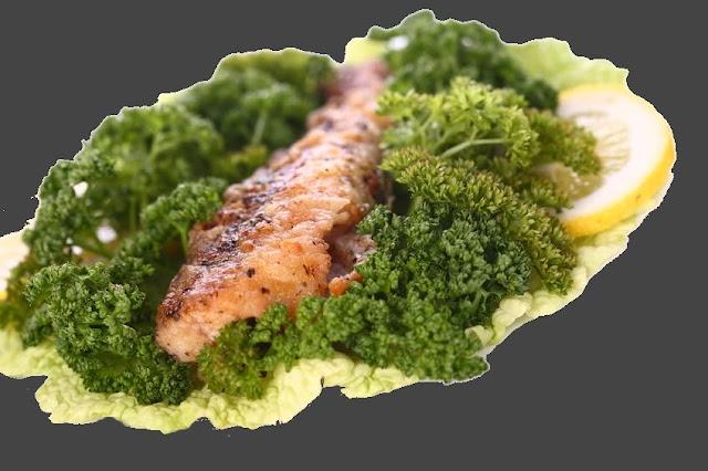 Ryba z kardamonem z parowaru