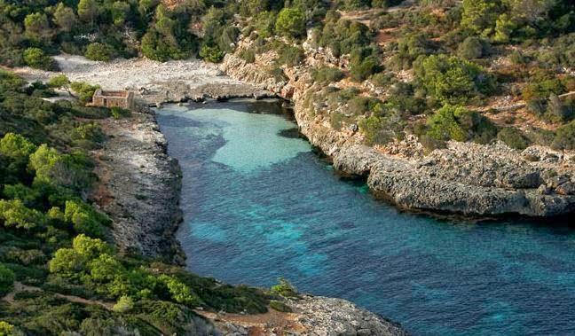 Cala Brafi naturist beach in Mallorca