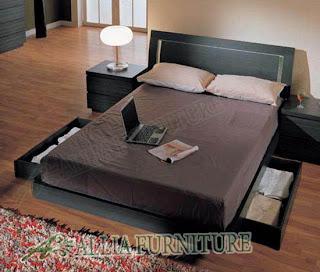 Tempat tidur minimalis untuk pasangan muda