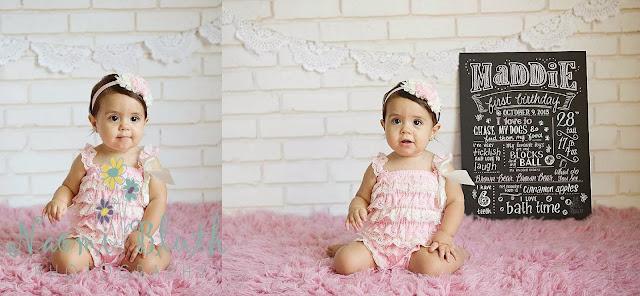 Boca Raton baby photographer birthday cake smash Naomi Bluth