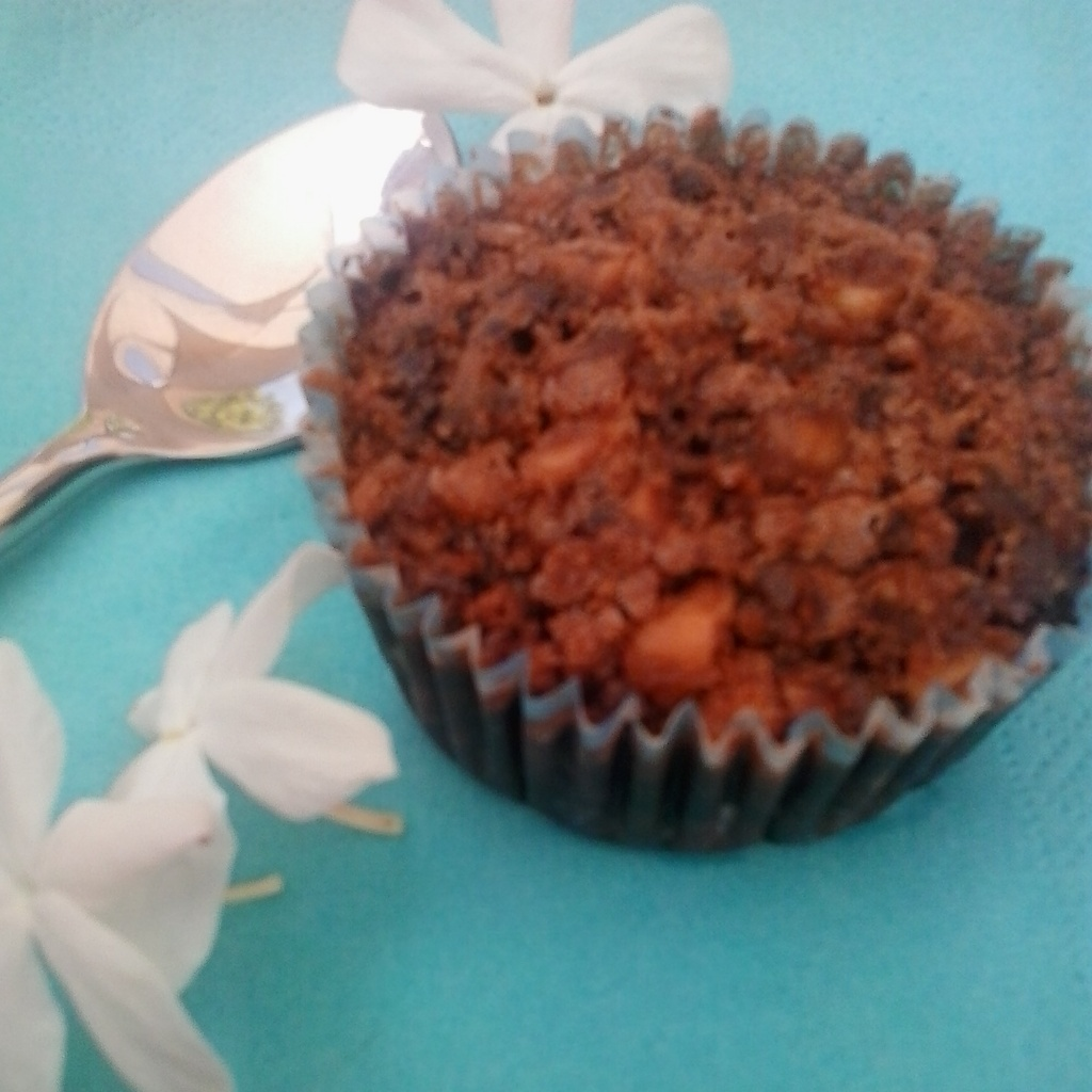 Muffin-brownie de chocolate