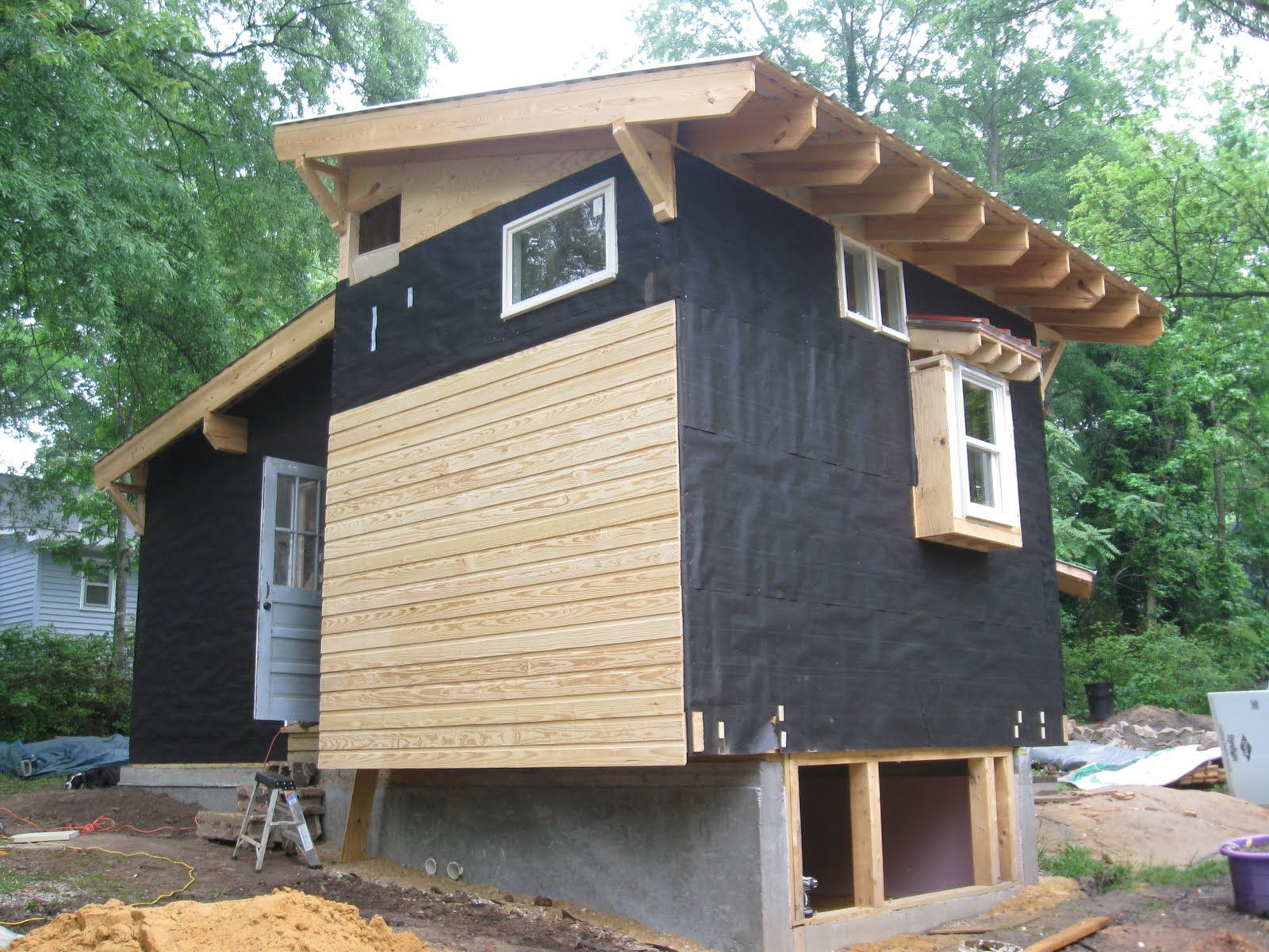 Stunning exterior plywood sheathing gallery decoration for Plywood wall sheathing