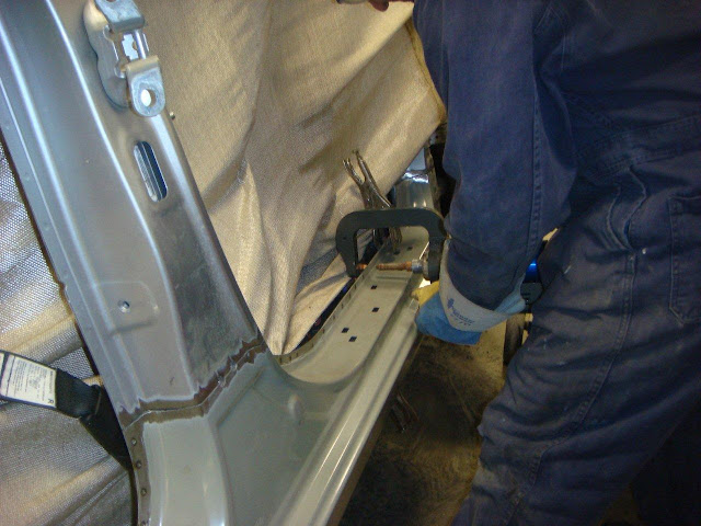 Shield Autobody Edmonton  Pro Spot I4 welder