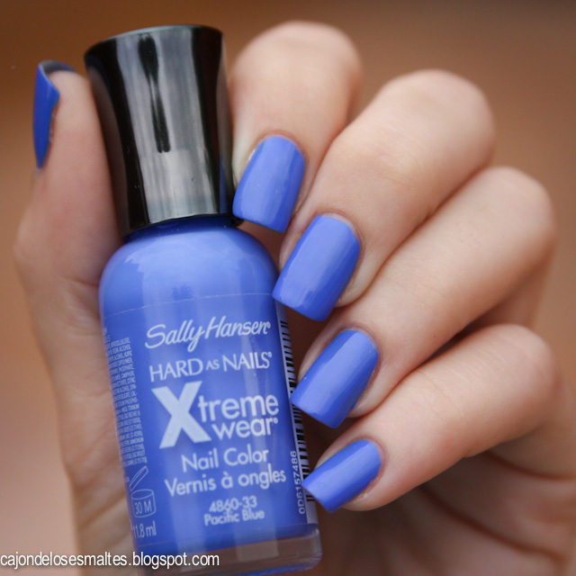 esmalte sally hansen pacific blue