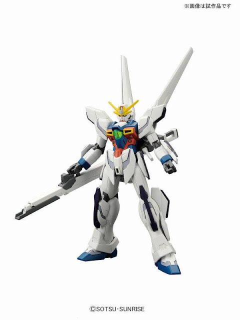 HGBF 1/144 X Gundam MAOH / DEVIL