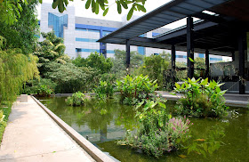 HortPark gardening hub in Singapore