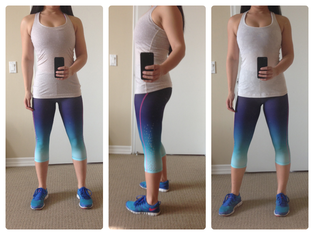 My Superficial Endeavors: Sweaty Betty Adrenaline Ombre Run Capri