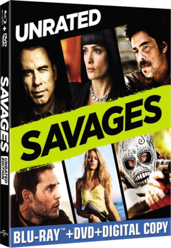 Savages [2012] UNRATED [BDRip 720p XviD] [Esp. Latino | Ingles]
