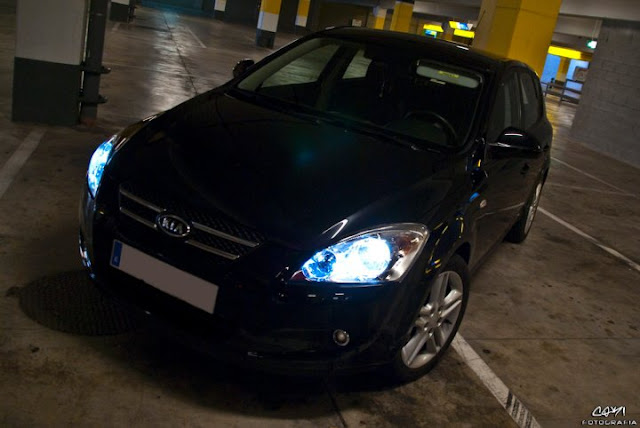 Kia Motors released the first photo of pyatidvernogo hatchback cee'd