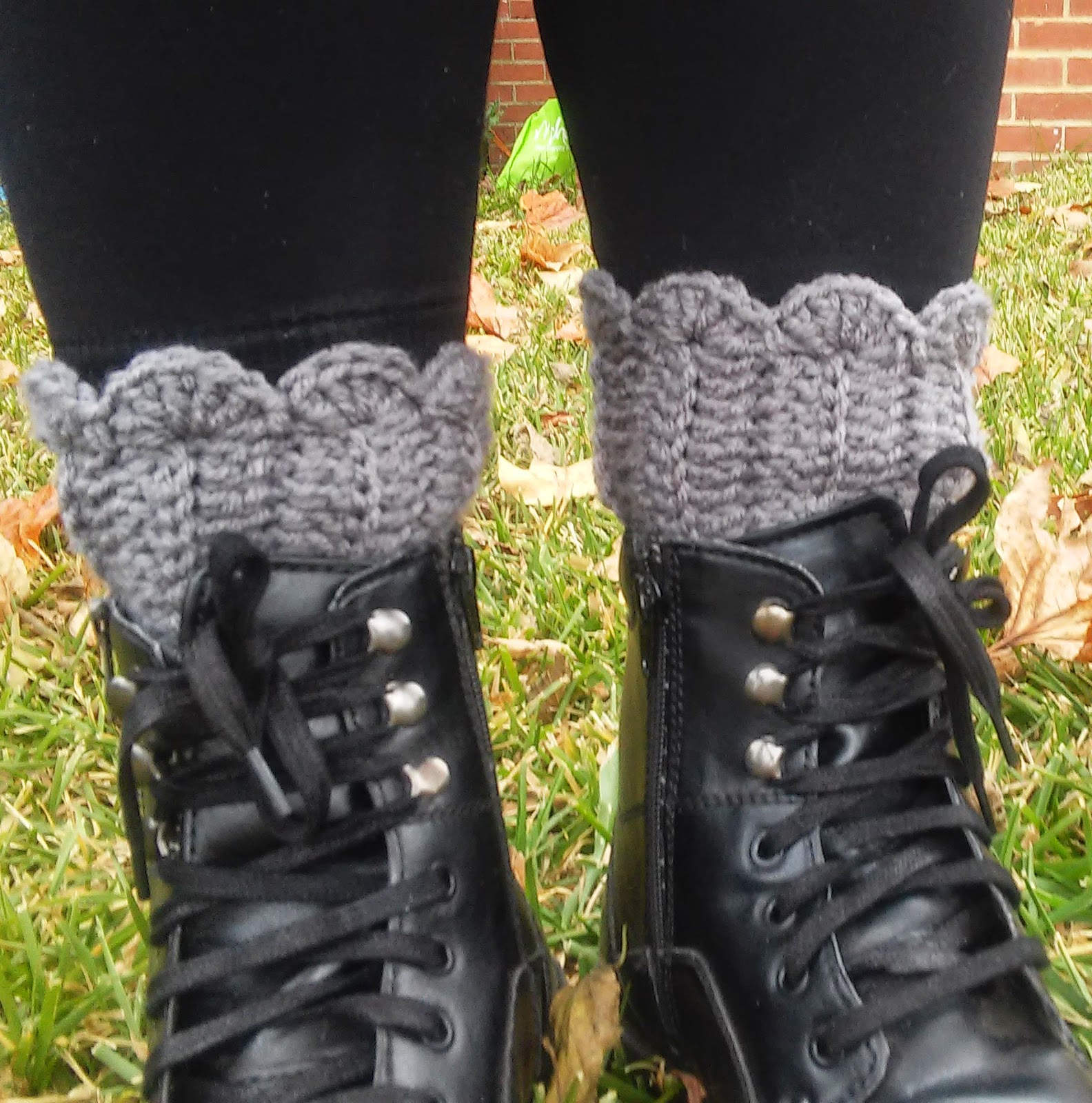 crochet boot cuffs, bootcuffs