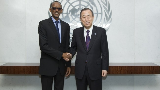 The dictator Kagame at UN