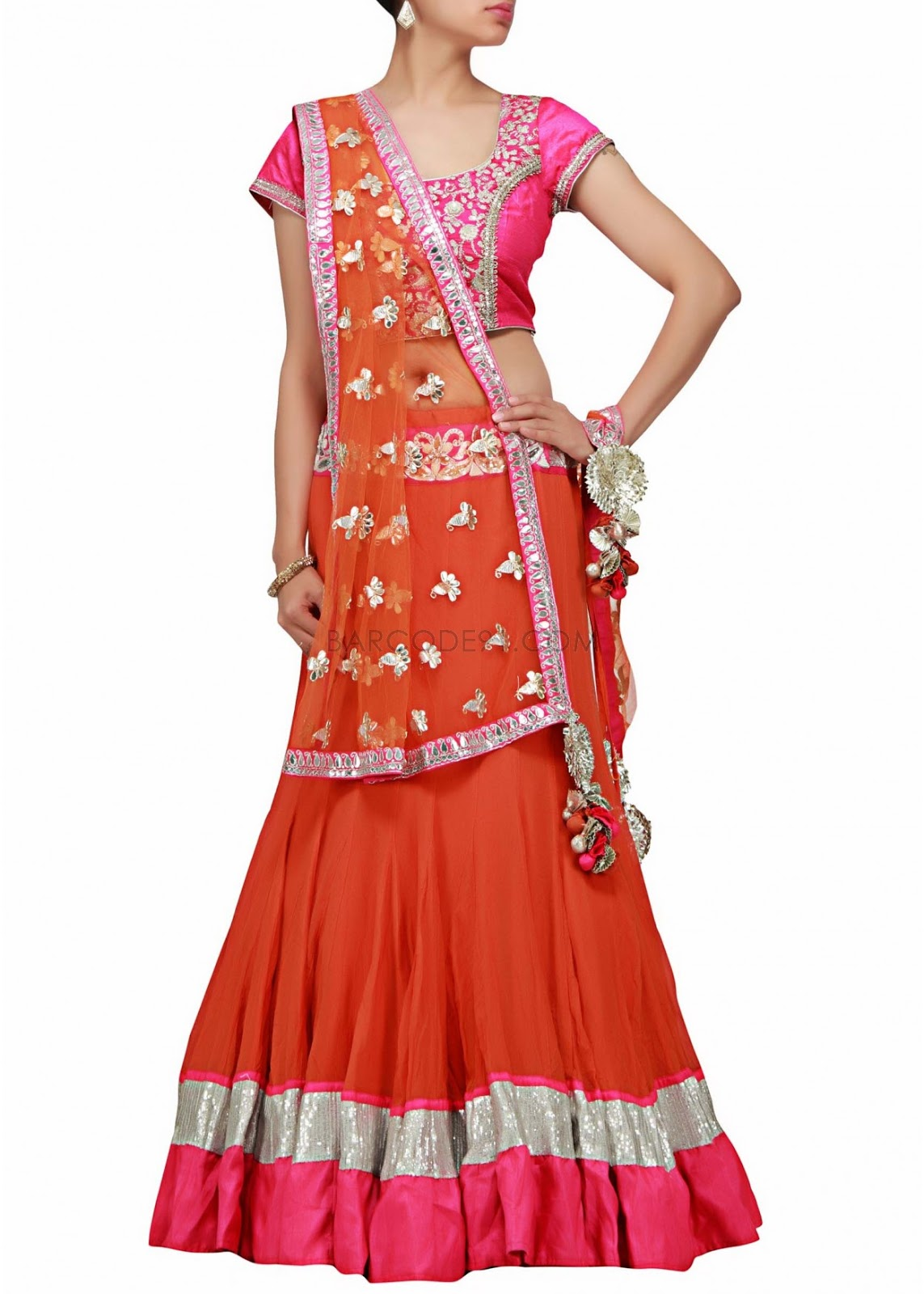Lehnga design latest for engagement images kids