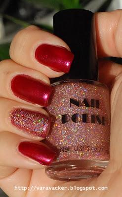 naglar, nails, nagellack, nail polish, holographic, holofredag
