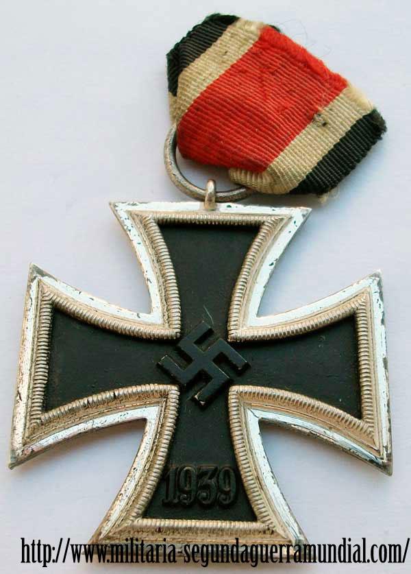 Cruz de hierro segunda clase de Gustav Brehmer