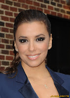 Eva Longoria at the Late Show With David Letterman At Ed Sullivan Theatre