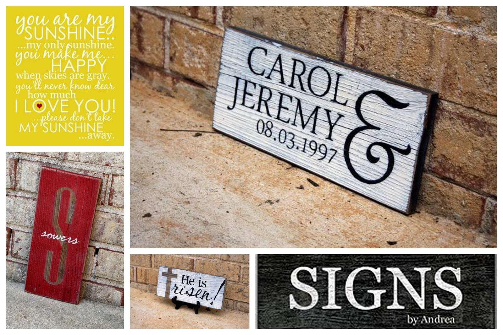 serenity now signs by andrea giveaway home decor