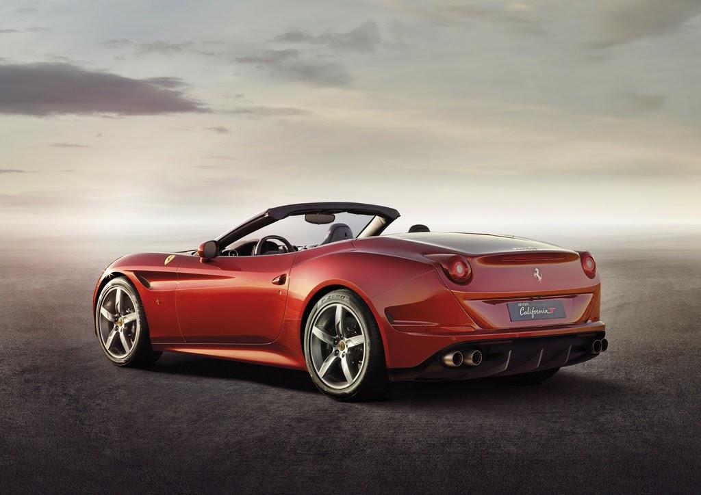 2014 Ferrari California T  side rear