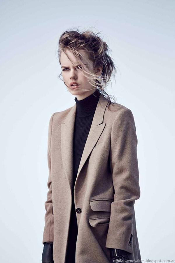 Paula Cahen D'Anvers tapados otoño invierno 2015. Moda invierno 2015.