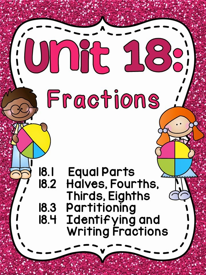 Miss Giraffe's Class: Fractions in First Grade
