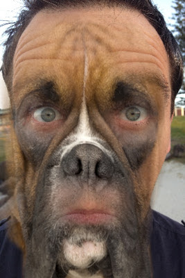 Dog face man - photo#8