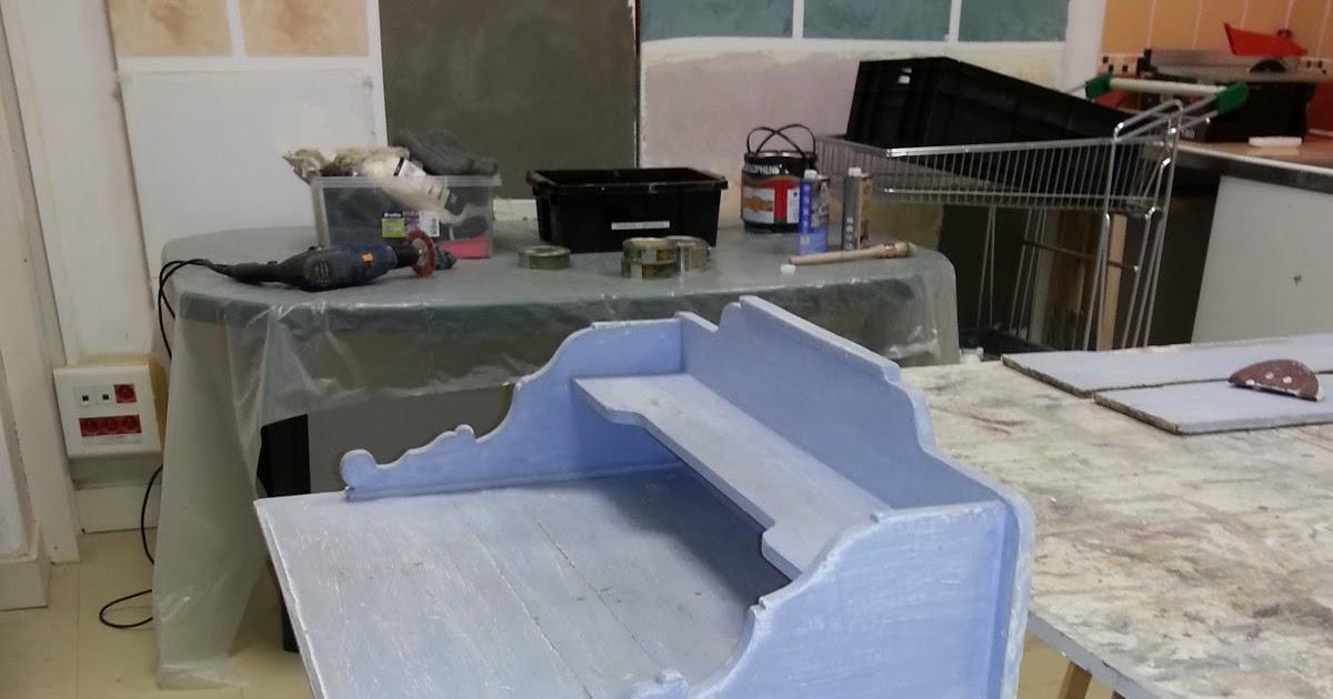 Peinture sur meuble : Ru00e9novation et ru00e9paration table de ...