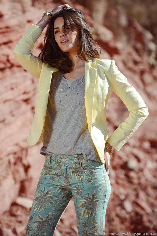 Moda primavera verano 2015 Markova sacos sastre moda 2015.