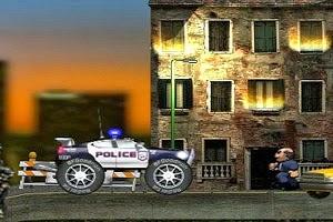 لعبة سيارة الشرطة السريعة