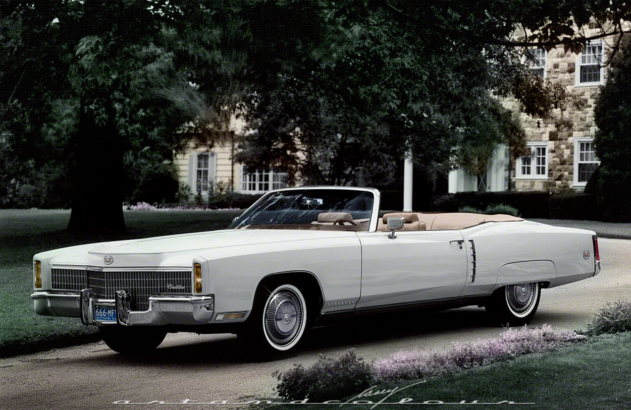 casey/artandcolour/cars: 1971 Cadillac Eldorado Design Tweak