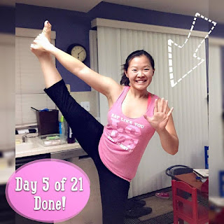 21 day challenge does it hurt your knees do while pregnant