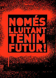 NOMÉS LLUITANT TENIM FUTUR!