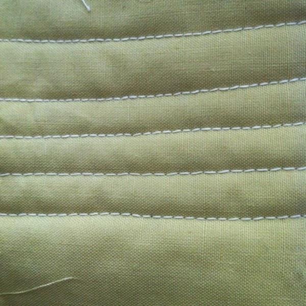 costuras de maquina coser sencilla