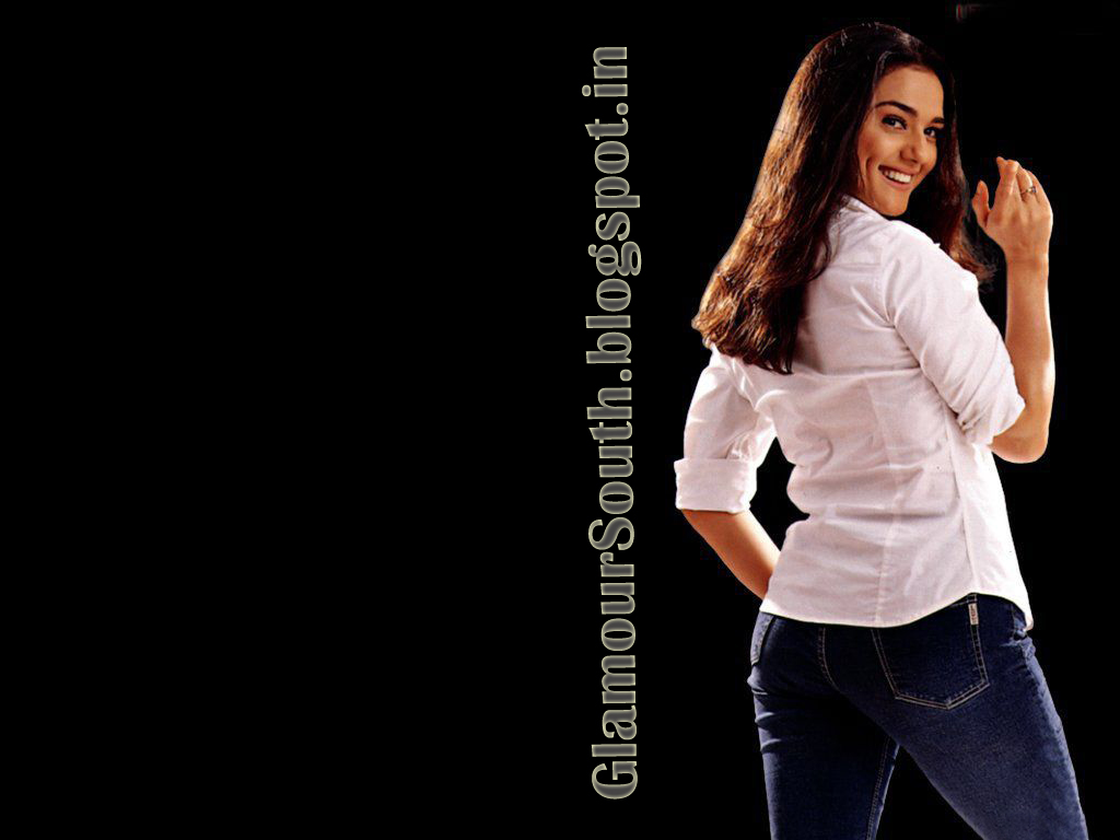 Preity Zinta latest hot Stylish photos in Jeans Skirt Salwar and Saree