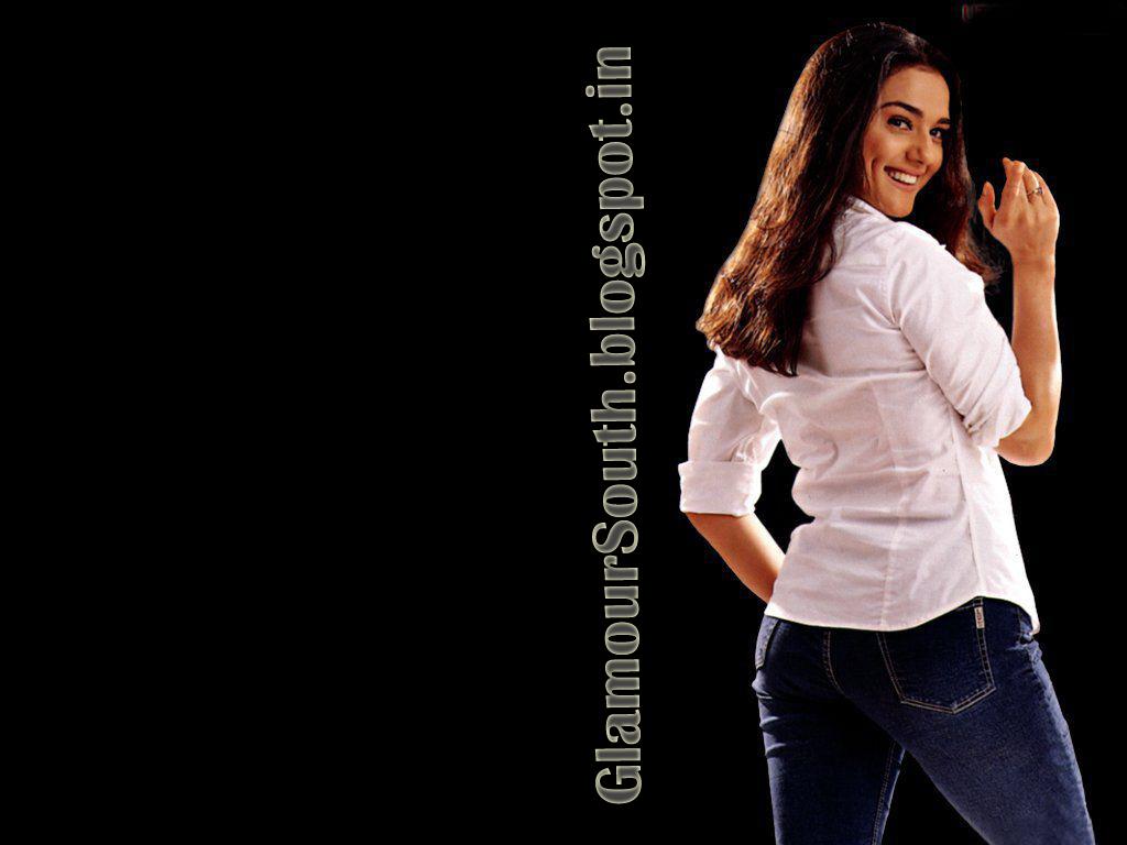 Preity Zinta latest hot Stylish photos in Jeans Skirt Salwar and Saree