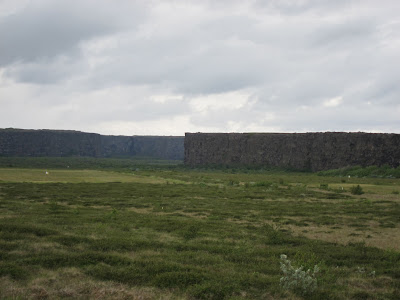 Asbyrgi from the side, Iceland